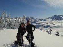 Estudia y trabaja en los alpes de Canadá